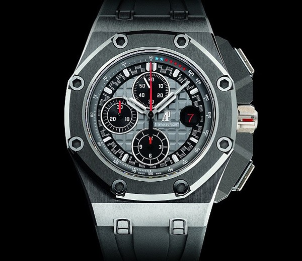 Michael Schumacher And Red Second Hand Copy Audemars Piguet Royal Oak Offshore Michael Schumacher