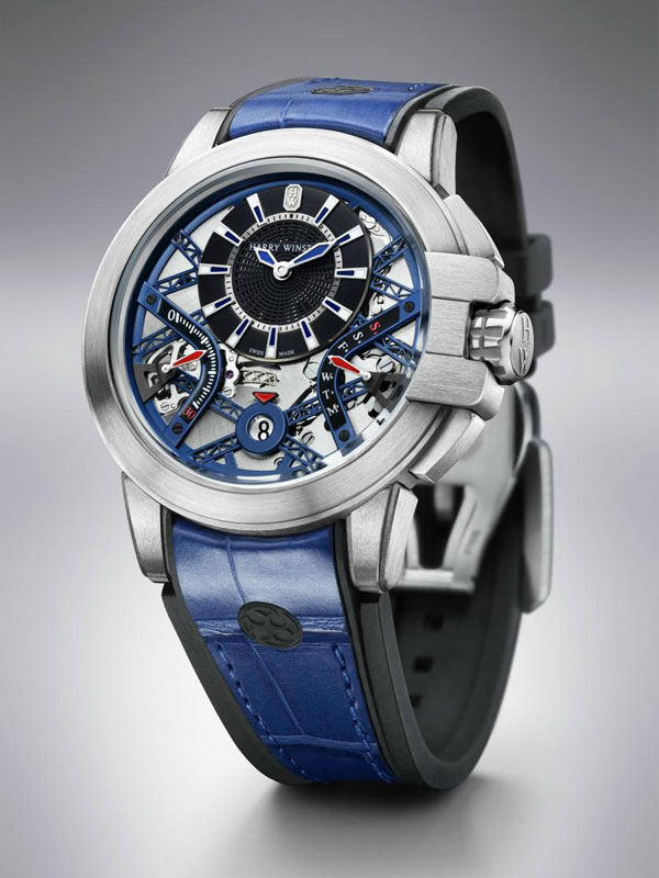 steel case Replica Harry Winston Project Z10 Watches