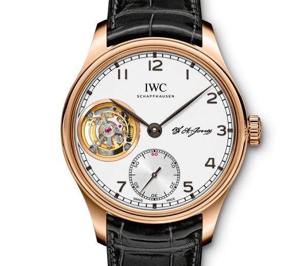 "Red Gold Case Copy IWC Portugieser Tourbillon Hand-wound ""D.H. Craig America"" Special Edition For Sale"