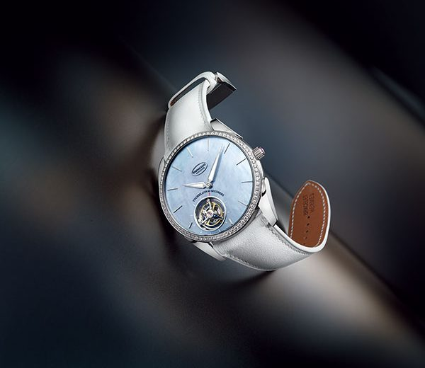 For The One You Love Most – White Leather Strap Fake Parmigiani Tonda 1950 Ultra-Thin Flying Tourbillon Watches