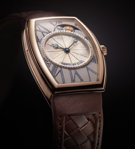 Breguet Heritage Replica Swiss Watches With Brown Leather Straps For Sale