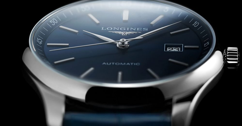 Longines Master Fake Noble Swiss Watches With Blue Dials Of Good Quality