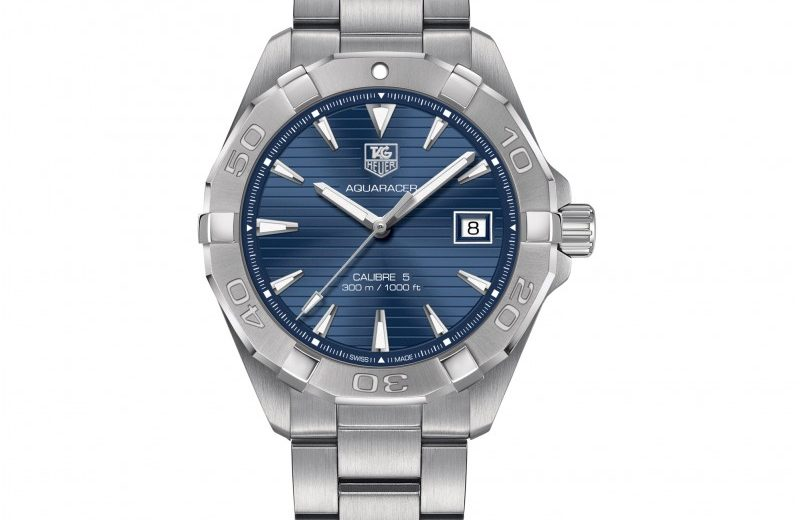 A Best Seller ——– TAG Heuer Aquaracer Fake Professional Watches With Blue Dials