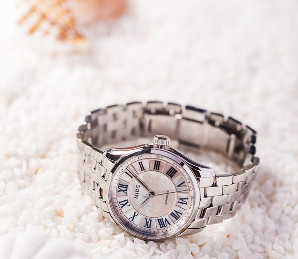 New Mido Belluna Replica Watches With Stainless Steel Bracelets For Women