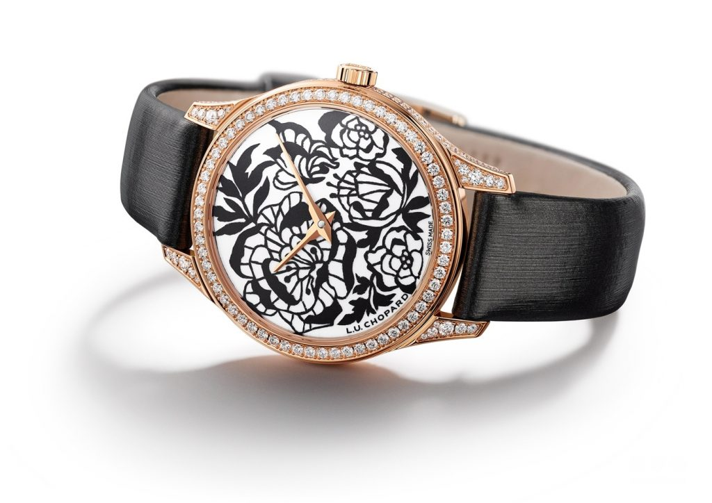 UK flower pattern on the dial is quite attractive.