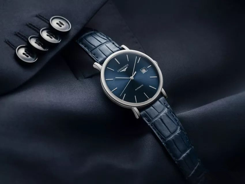 Blue Longines fake watches have great charm.