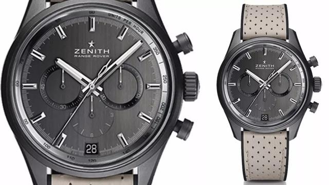 """Zenith fake watches for sale adapt classical """"Panda"""" dials."""