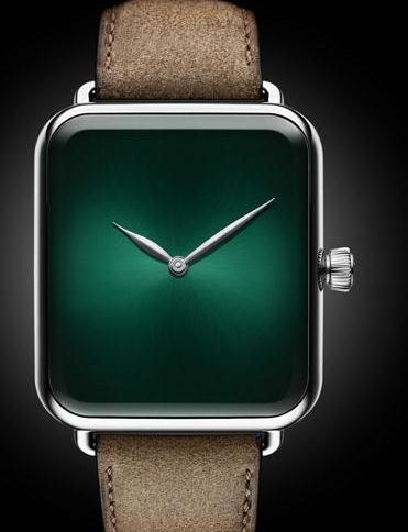 H. Moser & Cie. Concept copy watches with steel cases are in exquisite design.