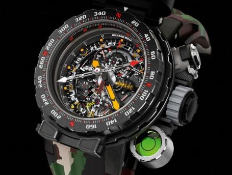 Review UK Richard Mille RM 25-01 Tourbillon Adventure Replica Watches
