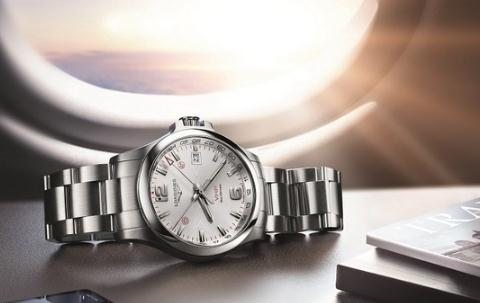 UK Longines Conquest V.H.P. GMT Replica Watches Online For Travelers