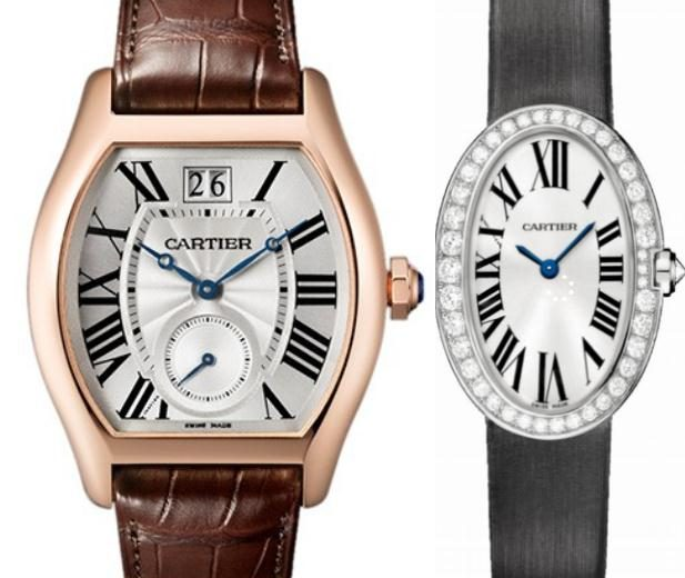 Prominent Replica Cartier Tortue And Baignoire Watches UK For Sale