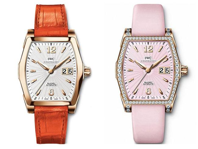 Recommendations Of Two Female Copy IWC Da Vinci Watches UK