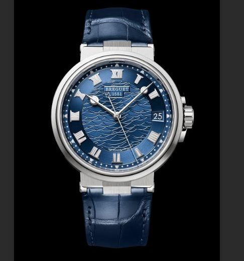 Go To Sea With Blue Replica Breguet Marine 5517BB Watches UK