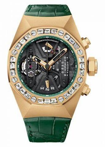 Eye-catching Watches Fake Audemars Piguet Royal Oak Concept 26224BA.ZZ.D400CR.01 UK For Men