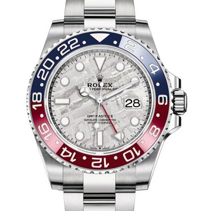 UK Brand-New Fake Rolex GMT-Master II 126719BLRO Watches With Aerolite Dials